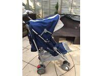 MACLAREN Techno XT Medieval Blue/Silver Stroller