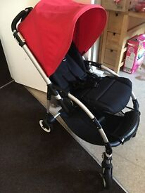 Bugaboo bee plus with extra hoods and sheep skin £220