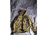 Large Supreme Camouflage Grail Jacket