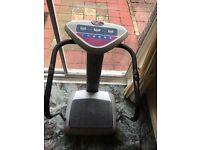 Crazy fit massaging machine