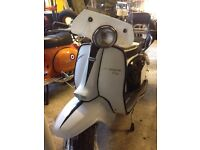 1968 Lambretta Li Special 125 (150 Engine) Willing to swap/part exchange for vespa