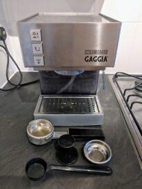 Gaggia Cubika Stainless Steel Espresso Coffee Machine