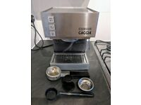 Gaggia Cubika Stainless Steel Espresso Coffee Machine