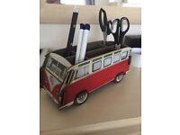 VW Campervan desk tidy
