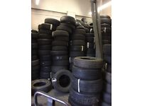 Joblot part worn tyres