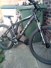 Carerra mountain bike for sale