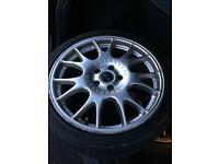 """BBS Ch wheels 18"""" 2 wheels and alloys"""