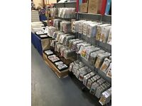 large job lots of craft stock - high selection - bankrupt stock for sale- clearance