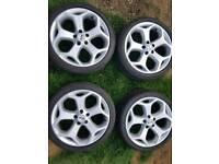 Ford focus ST alloys wheels