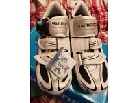 Cycling shoes, brand new, never worn. SHIMANO SH-R087W