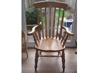 Large Pine Chair
