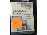 Rehabilitation Techniques Text Book - NEW!
