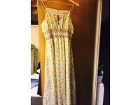 Vintage style long dress