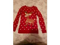 Girls Christmas jumper age 12-13 years