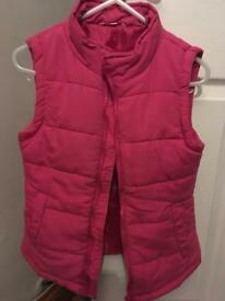 Girls 9-10 pink miss Evie body warmer
