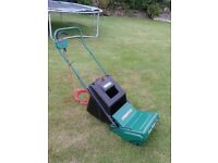 Qualcast electric lawn / grass rake and leaf collector
