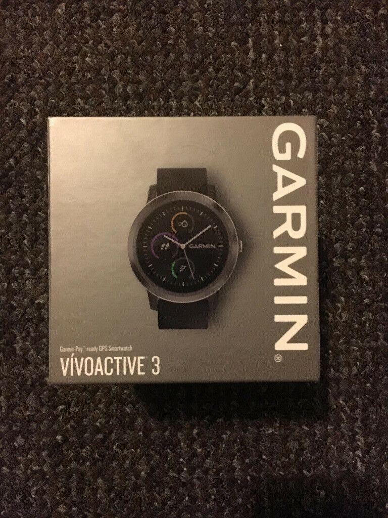 Garmin Vivoactive 3 GPS Smartwatch with Built-In Sports Apps and Wrist  Heart Rate - Gunmetal SEALED! | in Bournemouth, Dorset | Gumtree
