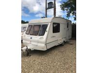Bailey ranger with awning