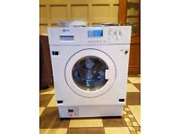 Neff V6320X1GB Built In 7Kg 1400 Spin Washer Dryer White Rrp £999