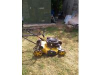 Lawn Mower WOLF BIG20 (Broken for repair or parts)