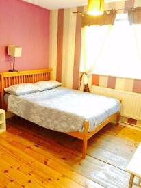 Great , great area lovely double room