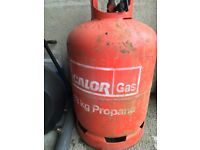 Propane 13kg bottle with gas