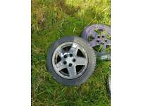 Corsa b Corsa c mr2 wheels . Leon alloys