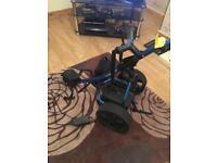 Powaglide remote control golf trolley