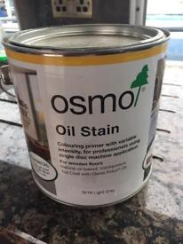 Osmo Oil Stain 2.5l - Light Grey RRP £85.28