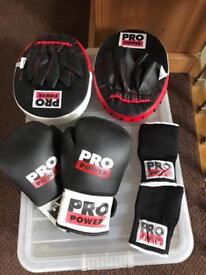 Pro plus boxing equipment