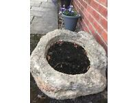 Large Rustic High Quality Stone Planter