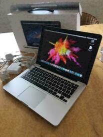 Apple MacBook Pro 13' Retina Display Core i5 2.5Ghz 8GB 480GB SSD Capture One Adobe Photoshop