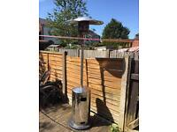 Stainless steel 8ft tall patio heater £30