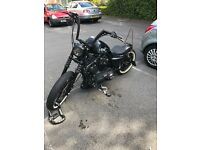 2016 Harley Davidson sportster, £7500 Ono quick sale needed