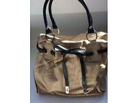 NEW Mikaso beige handbag/tote bag.