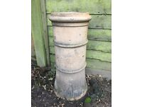 Reclaimed chimney pot, ideal for the garden and plant pots (5 available - £25 each)