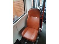 5 MINIBUS SEATS EXCELLENT CONDITION,sold separately or together