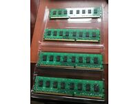 Corsair Vengeance 16GB (4x 4GB) DDR3 1600MHz Low Profile Memory Kit.