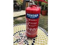 Fire extinguisher,powder