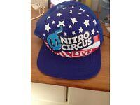 Official nitro circus uk tour hat