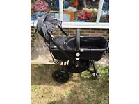 Bugaboo chameleon buggy and maxi cosi car seat