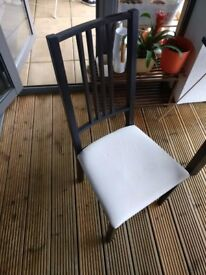 Two Brown Chairs
