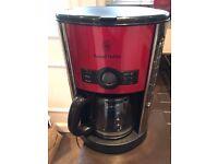 Russell Hobbs Heritage Coffee Maker - Red