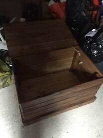 Wooden Toy box STorage box