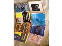 Various Biology Textbooks