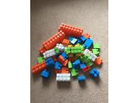 Large Lego - excellent condition with car base