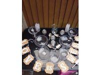 Sweet Table Glassware