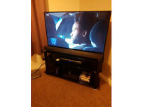 "42"" Sony Bravia 3D Smart TV and stand"