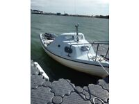 17ft Sea Nymph Boat with trailer + 15hp Yamaha Outboard