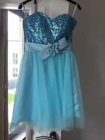 Selection of prom dresses and evening dresses
